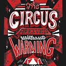 The Circus Arrives Without Warning The Night Circus Bookish Merch by abbymalagaART