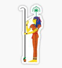 Seshat [FRESH Colors] | Egyptian Gods, Goddesses, and Deities Sticker