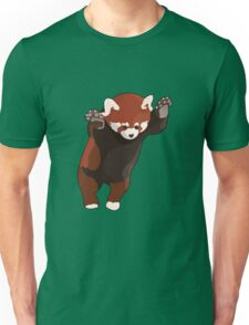 Red Panda Excited Unisex T-Shirt