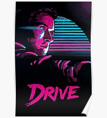 DRIVE 'HAND-PAINTED' ART PRINT Poster