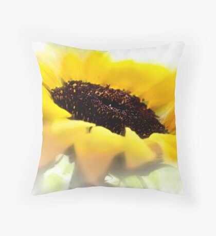 Summer is meant for sunflowers Throw Pillow