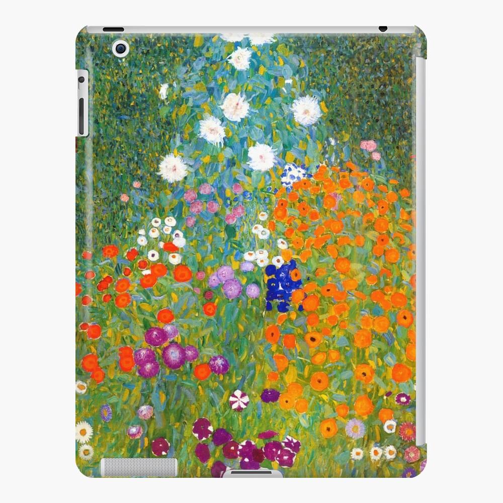 flower garden by gustav klimt vintage floral   ipad case & skin