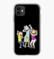 Rick, Morty, and Summer Dancing iPhone Case