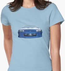 Blue Camaro Women's Fitted T-Shirt