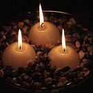 Pebble Candlelight by Wendy  Chapman