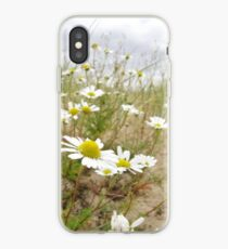 White n Yellow Lisfannon beach County Donegal Ireland iPhone Case