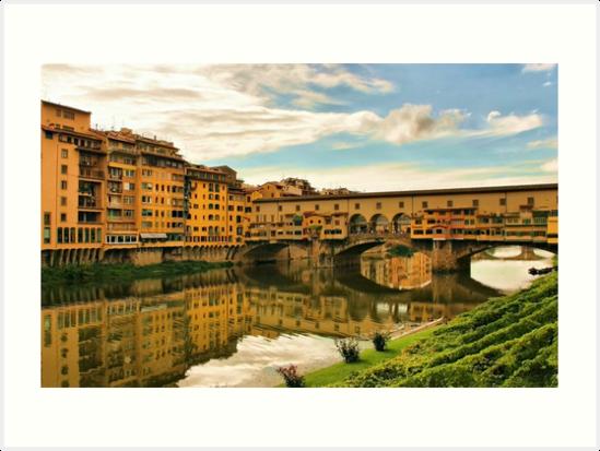 Ponte Vecchio by Barbara  Brown