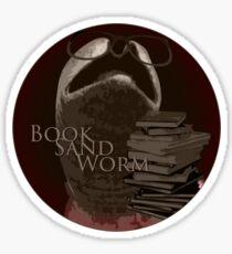 Book Sand Worm Sticker