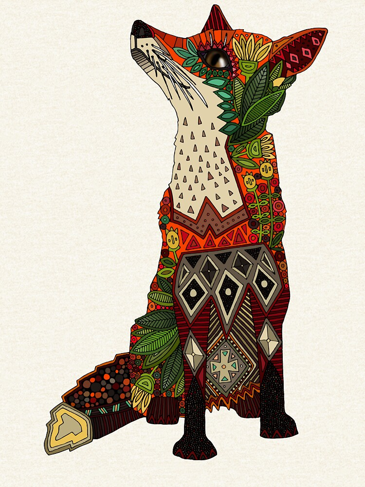 floral fox by scrummy