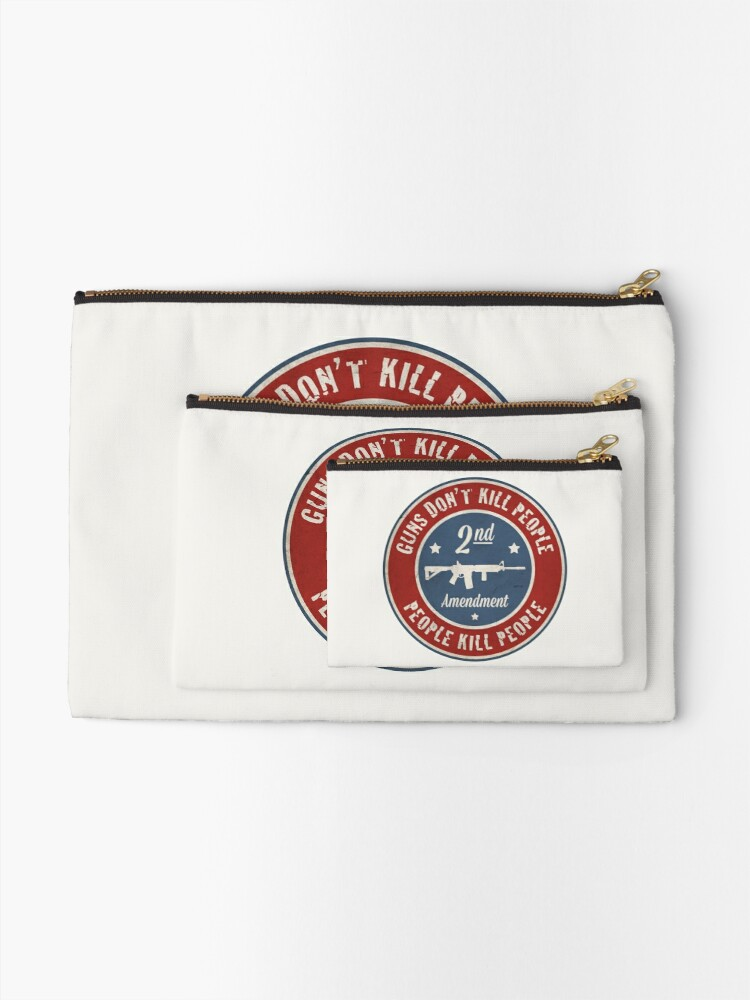 Alternate view of Second Amendment Zipper Pouch