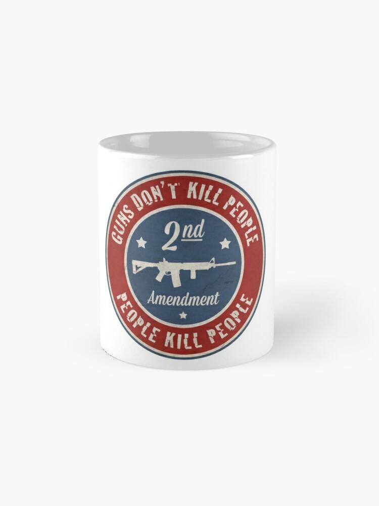 Alternate view of Second Amendment Mug
