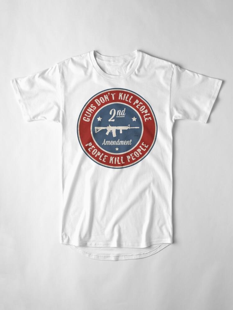 Alternate view of Second Amendment Long T-Shirt