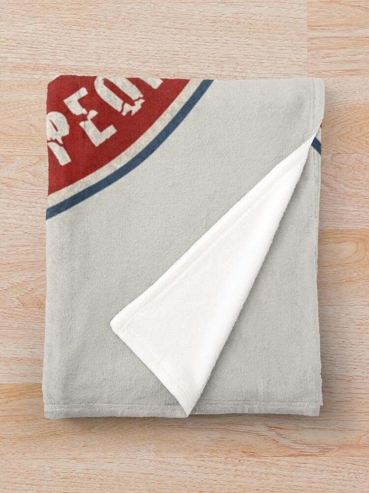 Alternate view of Second Amendment Throw Blanket