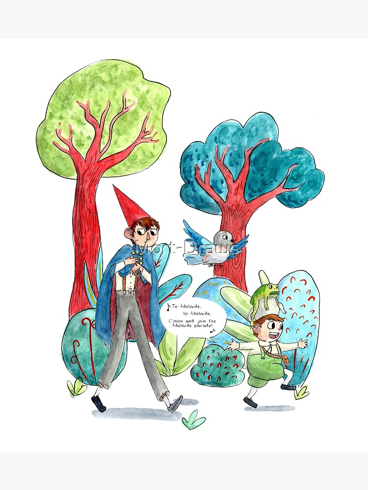Over the Garden Wall Illustration by Mort-Draws