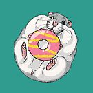 Hamster Party Ring by Holly Wells . Sweet Illustrations