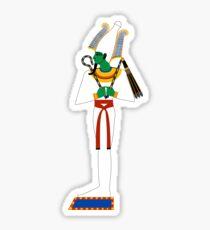 Osiris Version 2 | Egyptian Gods, Goddesses, and Deities Sticker
