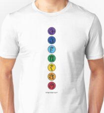 Chakras Slim Fit T-Shirt
