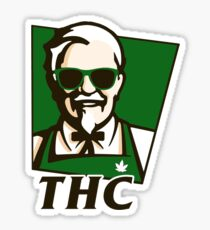THC Secret Recipe Sticker