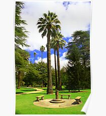 Botanic Gardens, Albury. Poster