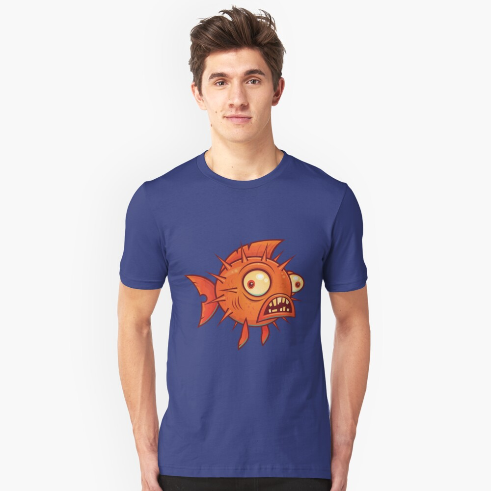 Pufferfish Slim Fit T-Shirt