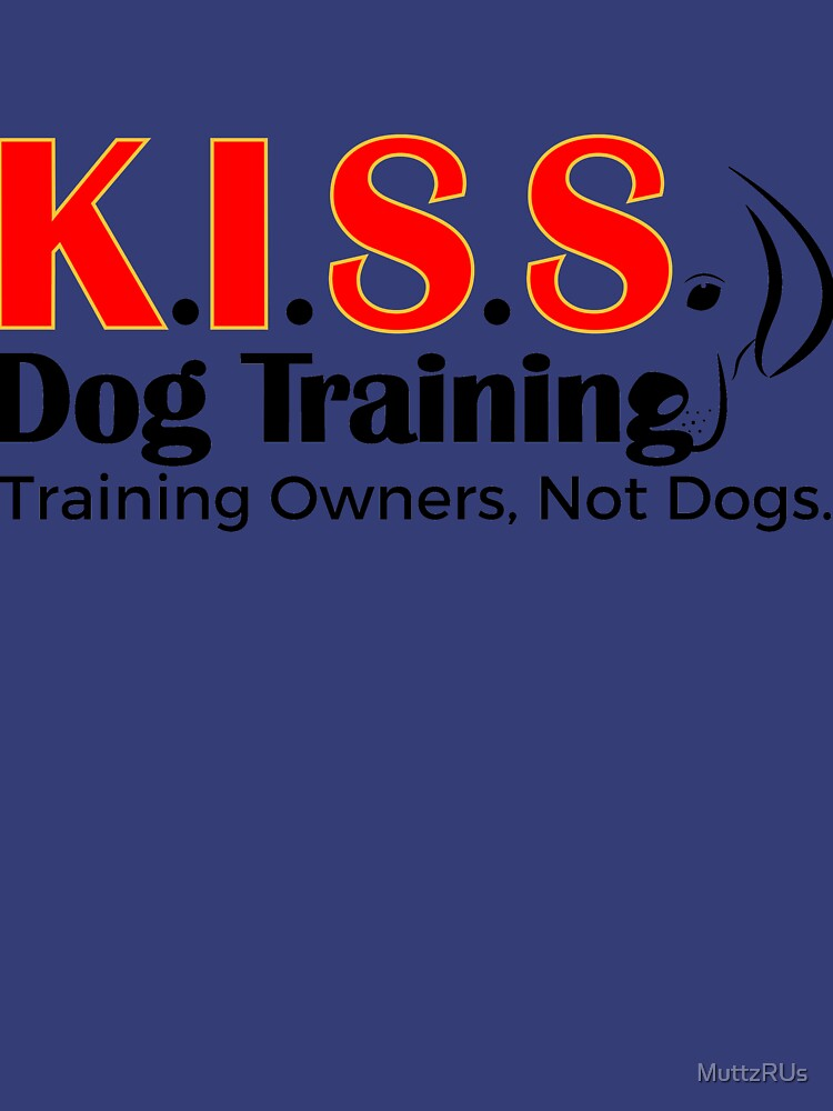 New Logo No Phone Number (Black Lettering) by MuttzRUs