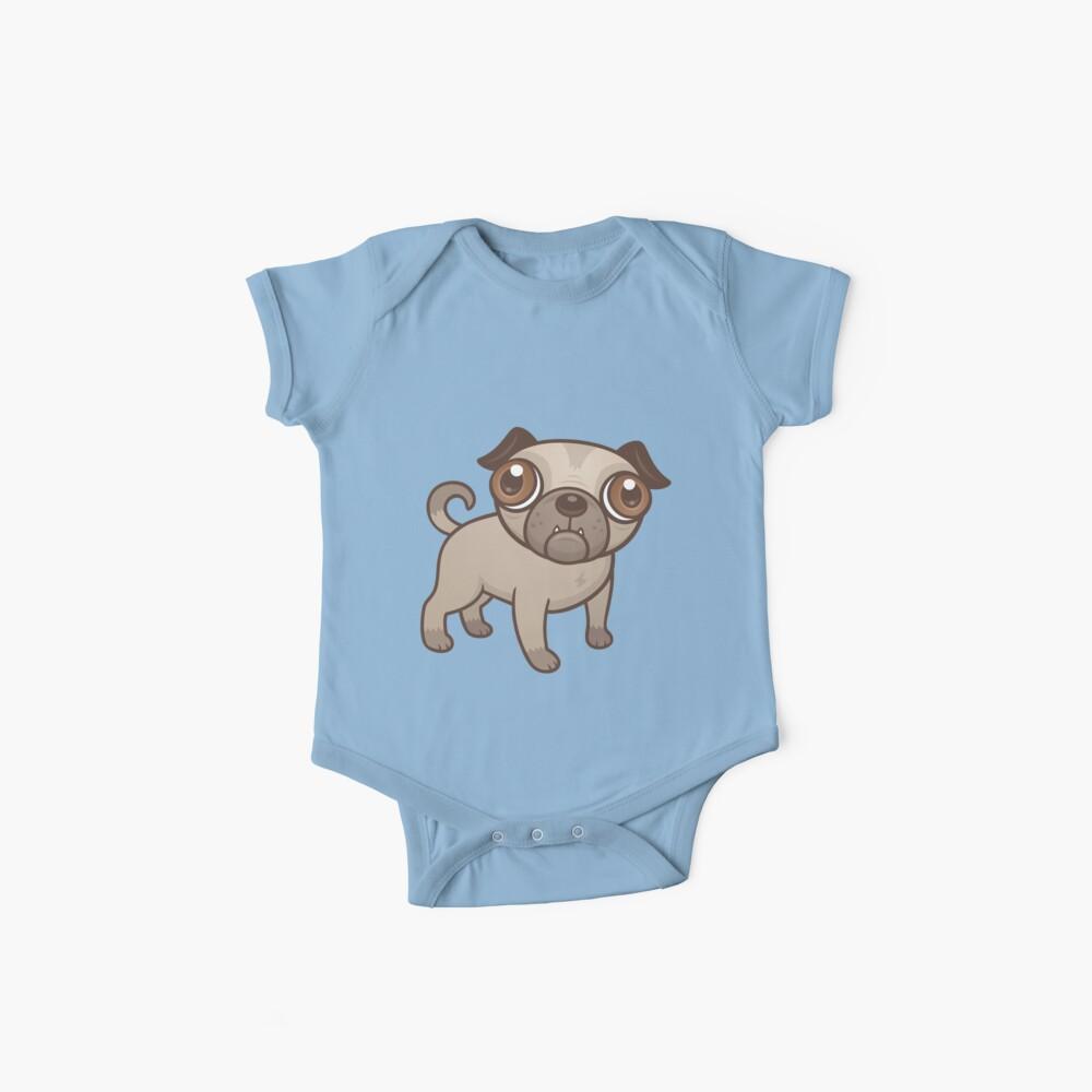 Mops-Welpen-Karikatur Baby Body