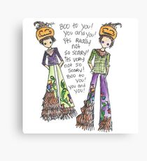 Boo To You! Canvas Print