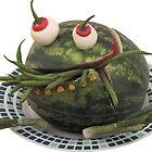 «Las verduras - Slow Bean Muncher» de Yampimon