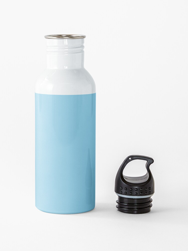Alternate view of PLAIN SOLID SKY BLUE -100 BLUE SHADES ON OZCUSHIONS ON ALL PRODUCTS  Water Bottle