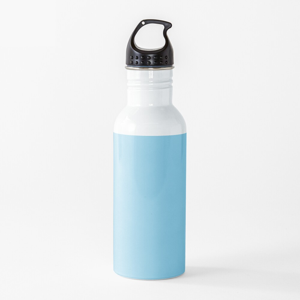 PLAIN SOLID SKY BLUE -100 BLUE SHADES ON OZCUSHIONS ON ALL PRODUCTS  Water Bottle