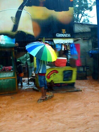 Rain in Freetown IV by heinrich