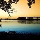 Stockton Bridge at Dusk by Mark Snelson