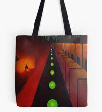 Lonely Night - Fine Art Painting Tote Bag