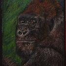 Silverback Gorilla by Magaly Burton