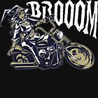 Brooom! Sexy Motorcycle Witch Doesn't Ride A Broom She Goes Brooom by GrandpasTees