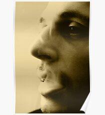 Portrait  monochromatic Poster