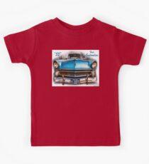 55 Ford Customline, Grill'n - Creative Clothing Kids Tee