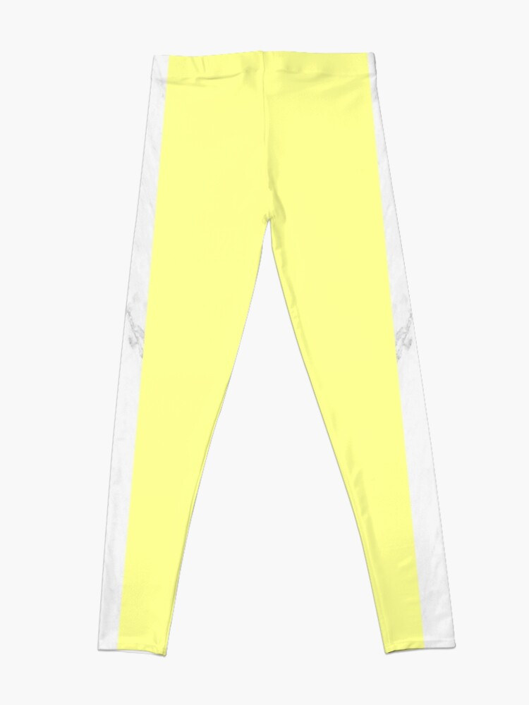 Alternate view of Marble And Yellow Leggings