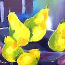 Little Pear Painting by Marie Theron