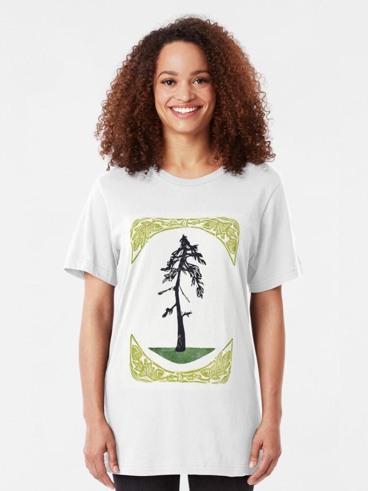 Alternate view of Proud Pine Slim Fit T-Shirt