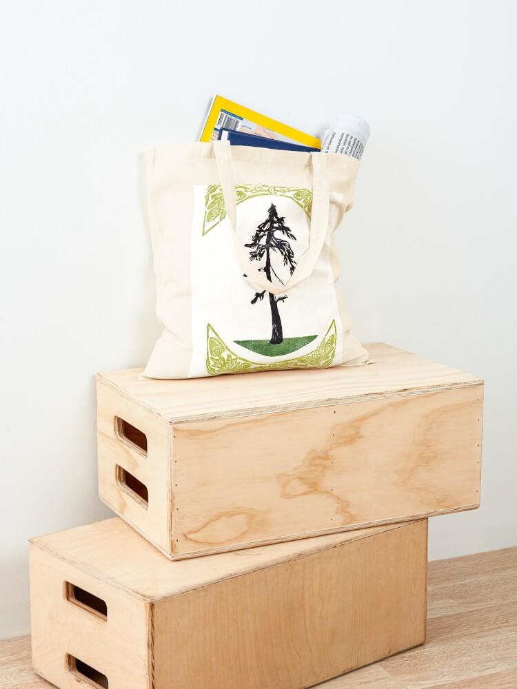 Alternate view of Proud Pine Tote Bag