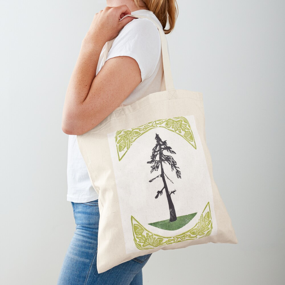 Proud Pine Tote Bag