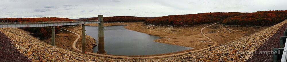 Francis E. Walter Dam Panorama #3 by Aaron Campbell
