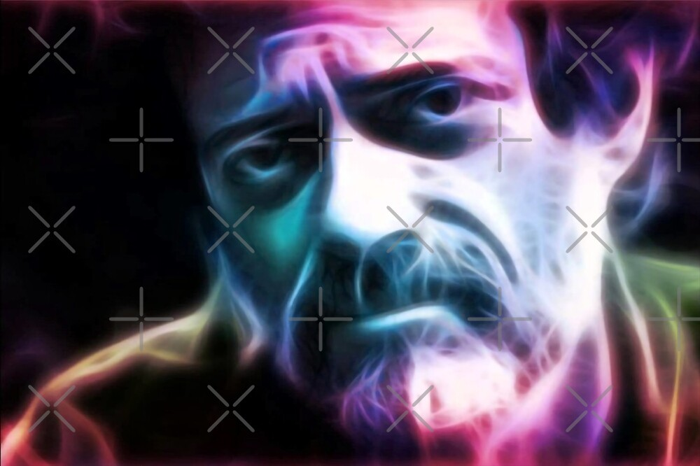 Terence Mckenna Art >> Terence Mckenna Colorful Art By Desire Inspire Redbubble