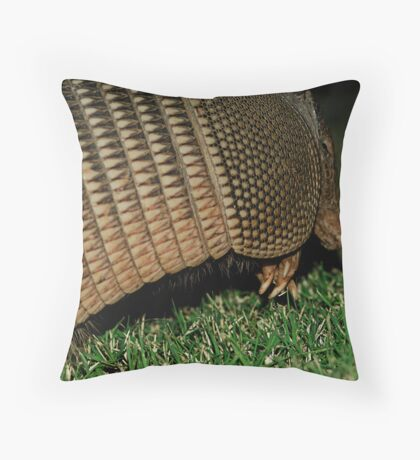 Armored Invader Throw Pillow