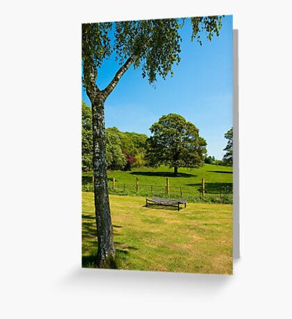 Woodleigh School grounds in July Greeting Card