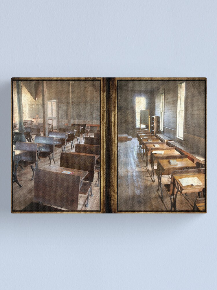 Alternate view of School Days Canvas Print