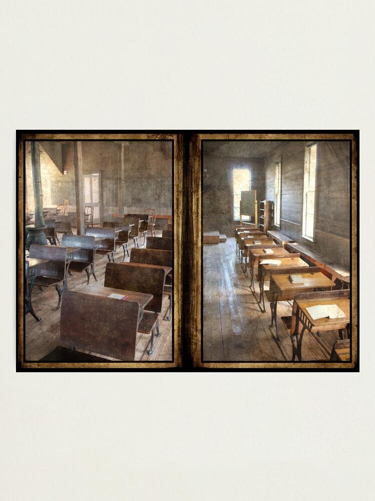 Alternate view of School Days Photographic Print