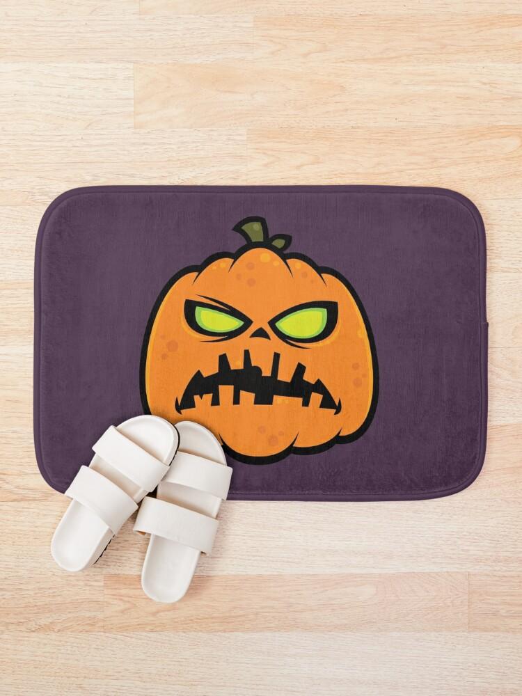 Alternate view of Pumpkin Zombie Bath Mat