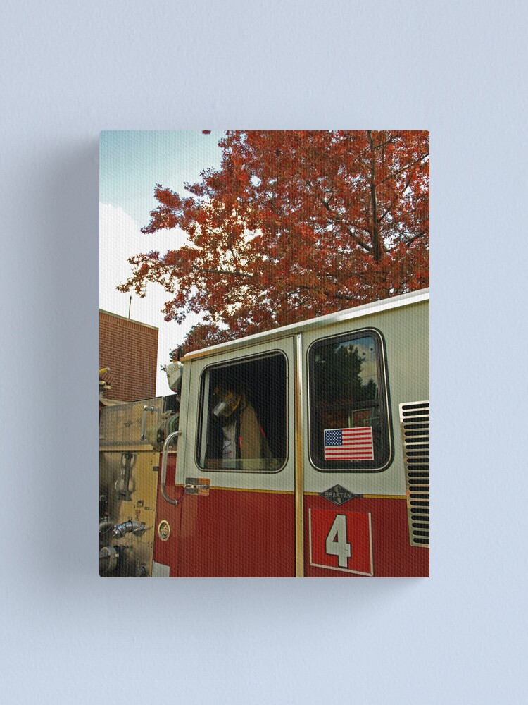 Alternate view of Autumn Reds 4 Canvas Print